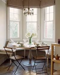 Kitchen Window Seat Ideas Grayish Blue Banquette Spacious Kitchen Ideas Dark Blue Chair And
