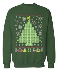 christmas sweater chemistry periodic table science christmas sweater holidays