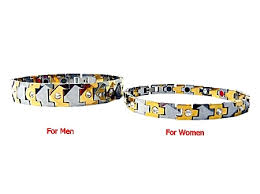 germanium energy bracelet images His hers 2 pack tungsten energy bracelet with magnetic fir jpg