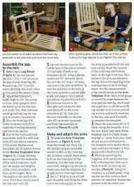 arts u0026 crafts rocking chair plan u2022 woodarchivist