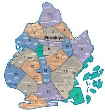 Queens College Map Nycdata Maps Boroughs With Community Districts