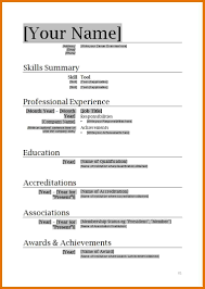 Free Open Office Resume Templates Free Resume Templates For Openoffice Free Samples Examples
