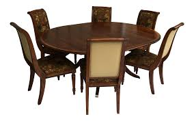 ethan allen dining set chairish