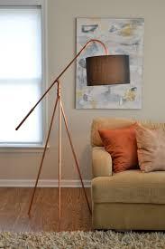 Copper Floor L Floor L Copper Pipe Tripod Hanging Shade Industrial