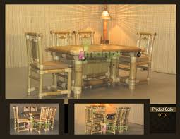 Bamboo Dining Table Set Bamboo Dining Table Set Manufacturer Manufacturer From India