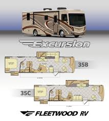 fleetwood rv expands already new excursion line up rvtrader com