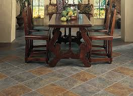 Gray And Tan Dining Room Tile Flooring Dining Rooms  Libraries - Dining room tile