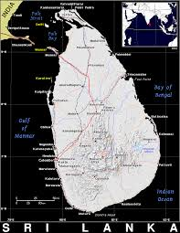 Map Of Sri Lanka Lk Sri Lanka Public Domain Maps By Pat The Free Open Source