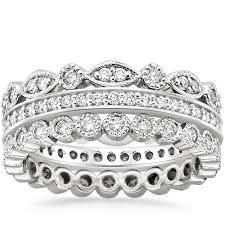 stackable diamond rings stackable rings stackable bands brilliant earth