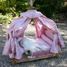 Pet Canopy Bed Bed Antoinette Gilded Frame Pink