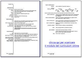 curriculum vitae formato pdf da compilare fac simile cv europeo da compilare curriculum vitae 2018