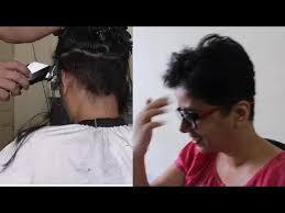 pixie haircut stories vidya s pixie haircut youtube