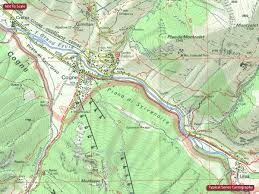 Italian Map Italy Igc 25k Walking Maps Of The Italian Alps Stanfords
