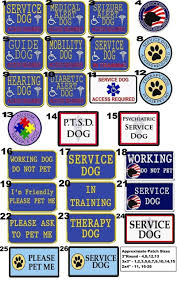 service dog gear xx small and x small reflective service dog