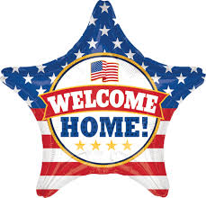 welcome home balloon bouquet shop 28 welcome home usa homecoming balloon instaballoons