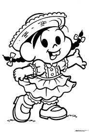 Conhecido Desenhos da Turma da Mônica de Caipiras - Festa Junina - Mundinho  &RH73
