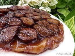t駘駑atin recettes de cuisine tarte tatin aux figues la table de pascaloue