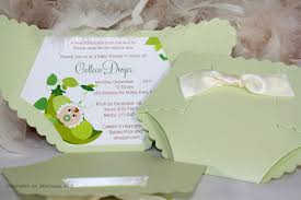 diaper baby shower invitation pea in the pod