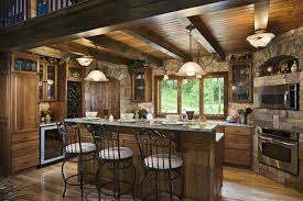 log home kitchen ideas pictures log cabin kitchen designs the architectural