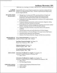 Free Nurse Resume Template Registered Nurse Resume Templates Certified Nursing Assistant
