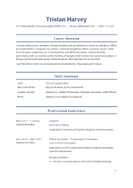 Example Of Resume Australia by Lovely Idea Resume Styles 3 Resume Format Guide Chronological