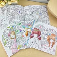 aliexpress com buy 100pages beautiful colouring book