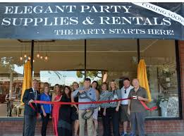 rental party supplies party supplies rentals ribbon cutting