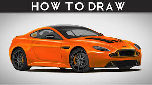 lego aston martin vulcan how to draw an aston martin v12 vantage step by step realistic
