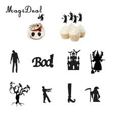 halloween themed cake toppers online get cheap halloween cake topper aliexpress com alibaba group