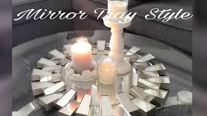 luxury home decor mirror trays affordable ideas youtube