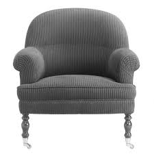 Traditional Armchairs Traditional Armchair Fabric On Casters Home Marie U0027s Corner