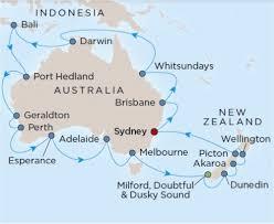 cruises to sydney australia around australia and new zealand 33 cruise by royal