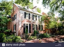 nicholson house 111 queen street chestertown maryland stock