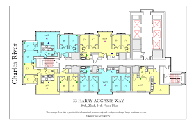 Bathroom Design Boston Commonwealth Ave Floor Plan Housing Boston University Comm Typical