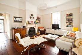 Cream Leather Armchairs Cream Leather Sofa Living Room Eclectic With Cottage Midcentury