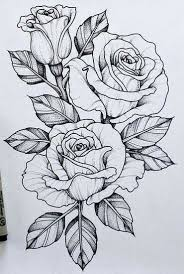 design flower rose drawing pin by tyanna wood on flower drawings pinterest tattoo drawings
