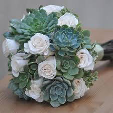 Succulent Bouquet Incorporating Succulents Into Your Arizona Wedding Wedding Ideas