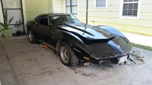 corvette project 1975 corvette project restoration for sale houston tx