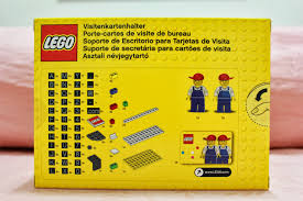 Desk Name Plates With Business Card Holder Lurkerr U0027s Blog Lego 850425 Desk Business Card Holder