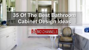 35 of the best bathroom cabinet design ideas youtube