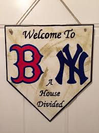 New York Yankees Home Decor by Home Plate Sign Boston Red Sox Sign New York Yankees Sign