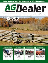 agdealer eastern ontario edition november 2012 by farm business