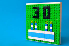 lego birthday card u2013 stepping on bricks
