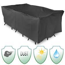 waterproof polyester garden patio table cover table cloth outdoor