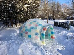 step by step instructions to build an ice block igloo 50 campfires