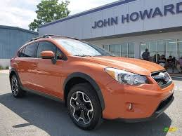 orange subaru crosstrek 2015 tangerine orange pearl subaru xv crosstrek 2 0i premium
