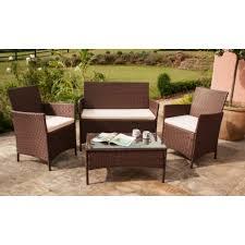 Patio Furniture Sets Uk - roma rattan garden furniture set