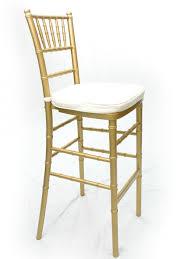 gold chiavari chairs rental chiavari barstool gold black or ivory pad included platinum