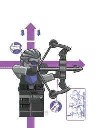 lego hawkeye coloring pages eliolera com