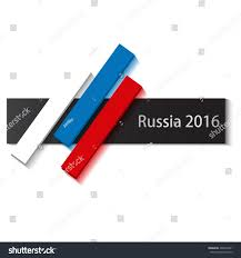 Colors Of Russian Flag Russia 2016 Abstract Russian Flag Russia Stock Vector 400270951